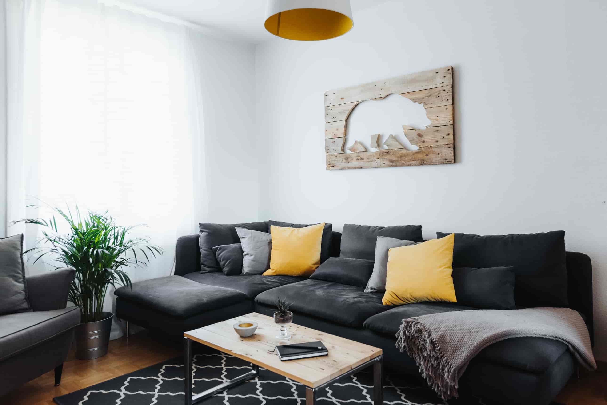 Wandbild Bär